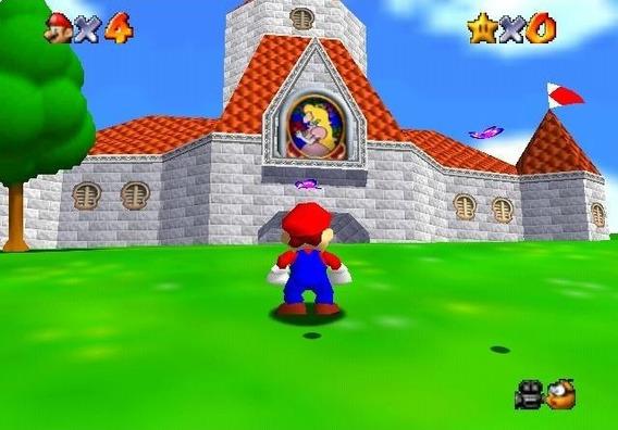 Jogo Super Mario 64 Para Pc Envio Imediato