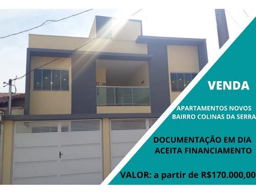 Apartamento Com 2 Quartos Para Comprar No Colinas Da Serra Em Lavras/mg - Mhc119