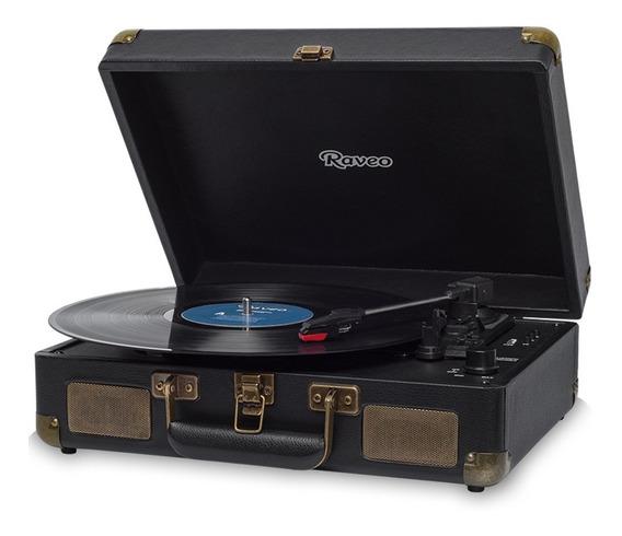 Toca Discos Vitrola Sonetto Gravação Usb Bluetooth Maleta
