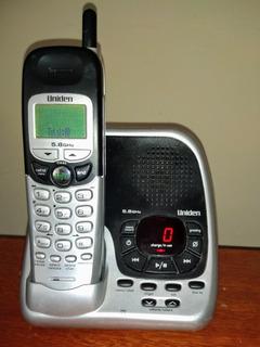 Telefone Sem Fio Secret. Uniden Exal5580