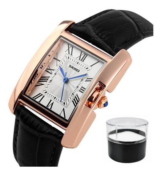 Relógio Skmei 1085 Feminino Luxo Original Com Estojo E Nota