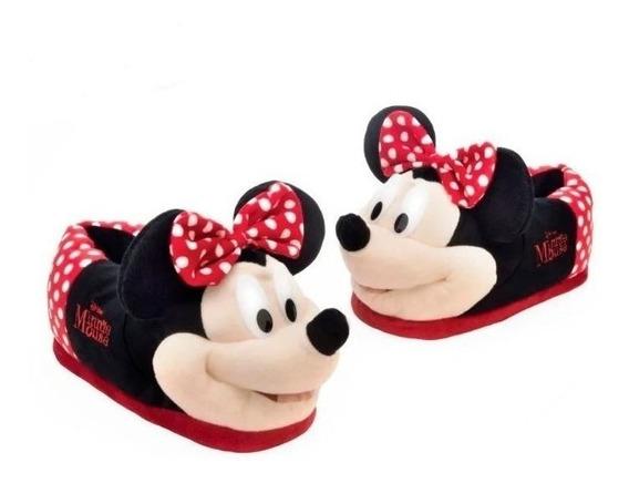 Pantufa Minnie Mouse Disney 3d