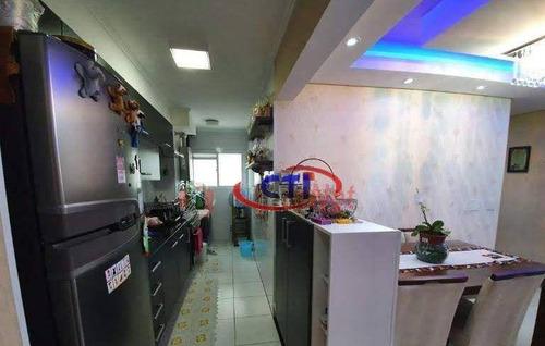 Apartamento Com 3 Dormitórios À Venda, 64 M² Por R$ 385.000,00 - Independência - São Bernardo Do Campo/sp - Ap3337