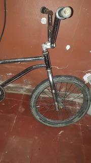 Bicicleta Bmx Cromada Rodado 20