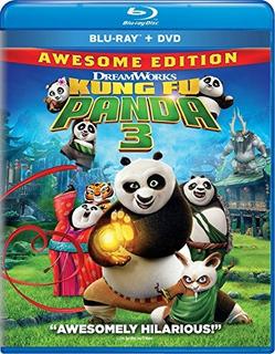 Blu-ray : - Kung Fu Panda 3 (dubbed, , Widescreen, Ac-...