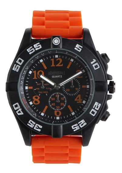 Relógio Aéropostale Tactical Chrono - Vivid Orange