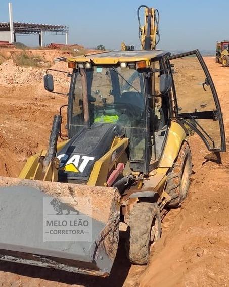 Retroescavadeira Caterpillar 416e - Ano 2012 - Bem Cuidada