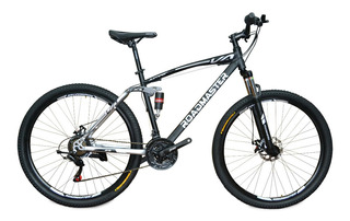 Bicicleta Roadmaster Jumper Doble Susp 29 Shimano21v Bloqueo
