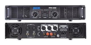 Potencia Dj Moon Pm60 60w X2 Audio Amplificador De Sonido
