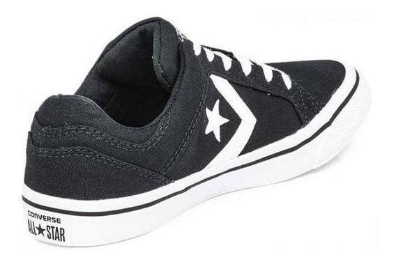 Zapatilla Converse Distrito Ox Black White Originales