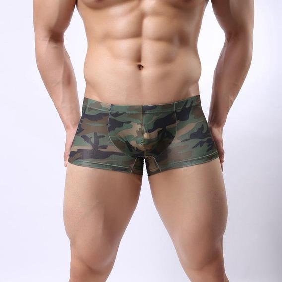 Ropa Interior De Hombre Camuflaje Militar Boxer De Hombre Es