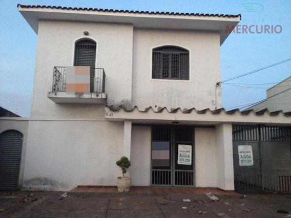 Casa Residencial Para Locação, Centro, Bauru. - Ca1412