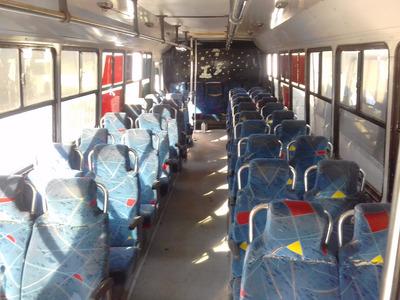 Autobus Panoramico Suburbano 41 Asientos Altos De Tela