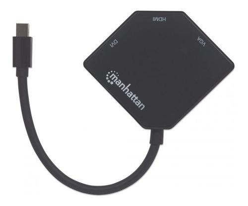 Imagen 1 de 3 de Adaptador Mini Display Port A Hdmi/vga/dvi 4k 207720