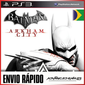 Batman Arkham City - Portugues - Jogos Ps3 Midia Digital