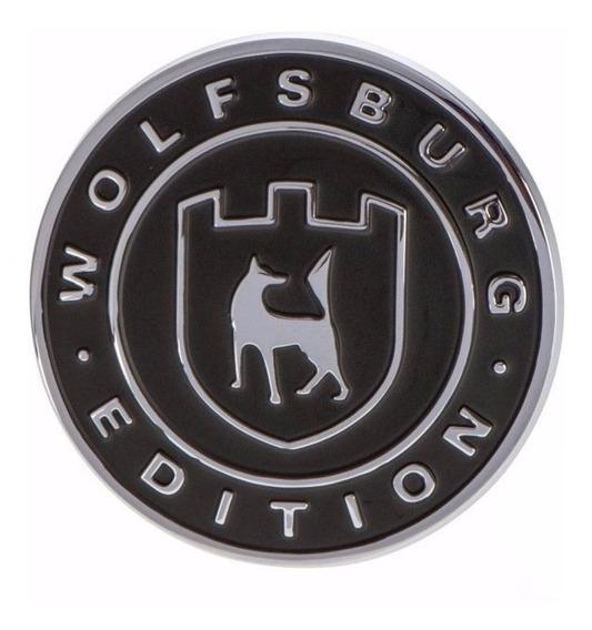 1 Parche Bordado Escudo Wolfsburg Con V-lcro