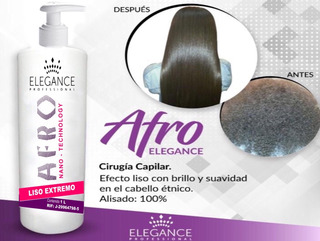 Cirugía Capilar Elegance Afro Liso Extremo