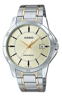 Reloj Casio Hombre Mtp-v004sg-9 Agente Oficial Caba, Garantia 2 Años Por Casio Argentina, Envio Gratis, Casio Centro