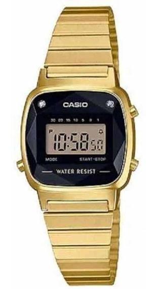 Relógio Casio Feminino La670wgad-1df Vintage C Garantia E Nf