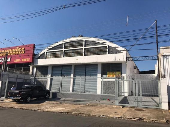 Galpão Para Alugar, 1200 M² Por R$ 11.500,00/mês - Jardim Eulina - Campinas/sp - Ga0015