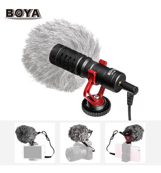 Boya By-mm1 Mini Cardioide Electret Metal