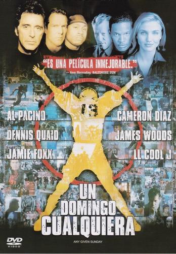 Un Domingo Cualquiera Given Sunday Al Pacino Pelicula Dvd