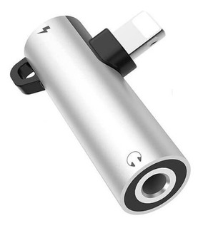 Adaptador iPhone Macho +audio 3.5 + Carga Titan Belgrano