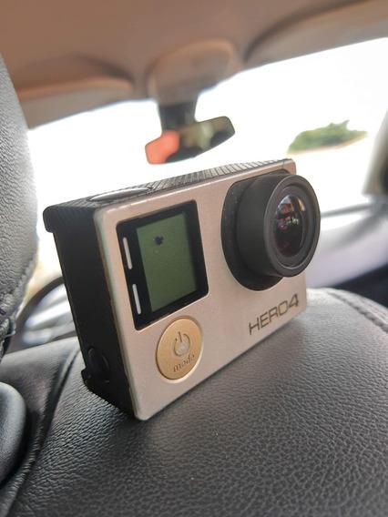 Gopro Hero4 Silver Camera Go Pro 4 Tela Lcd