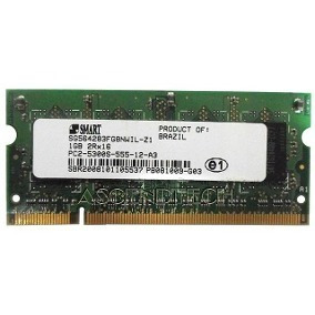Lote 15 Unidades Memória Notebook 1gb 667mhz Ddr2 Pc2-5300