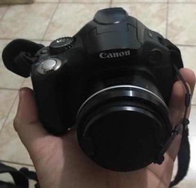 Camera Canon Sx + Tripé + Carregador + Bag + Cartão 16 Gb