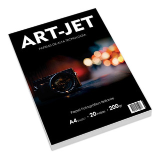 Papel Fotografico Glossy Brillo Art-jet® A4 200g X1000 Hojas