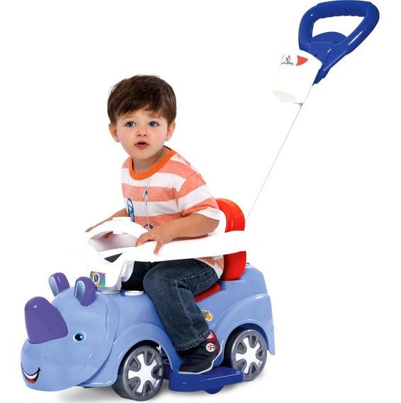 Carrinho De Passeio Andador Rino Baby Car 3 Em 1 Mercotoys