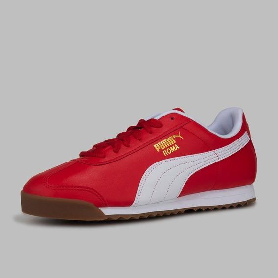 zapatillas puma rojas hombre