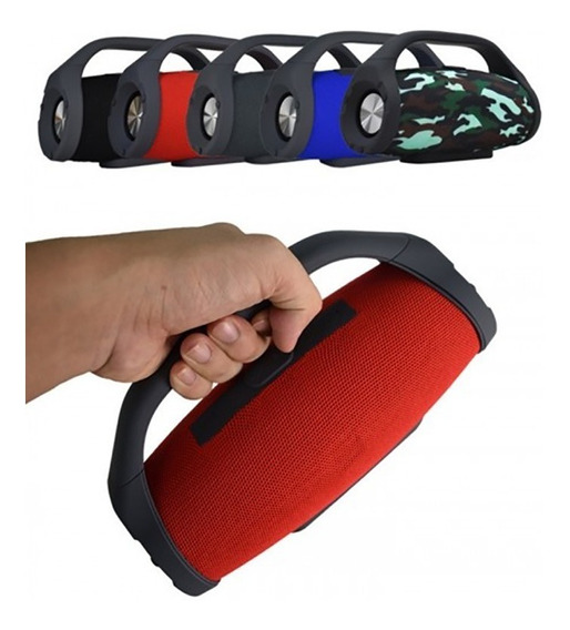 Caixa De Som Portátil Bs 218 Bluetooth Wireles P2 Usb Sd