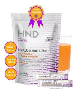 Ácido Hialurônico Com Colágeno 30 Sachês De 4g Hnd Hinode