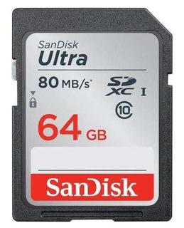 Sandisk 64gb Ultra Sdxc Uhs-i Tarjeta De Memoria (sdsdunc-