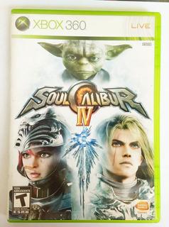 Videojuego Xbox 360 Soul Calibur 4 Original Uso Fisico