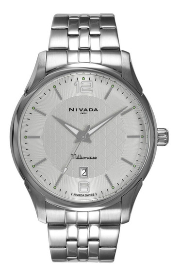 Impecable Reloj Original Nivada Caballero Incluye Estuche