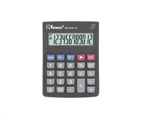 Calculadoras Kenko 12 Dígitos - A Pilas - Sertel