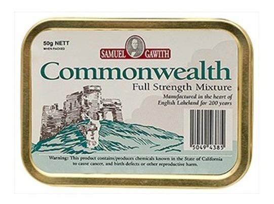 Tabaco Pipa Commonwealth Samuel Gawith Lata Tabacos Fumar