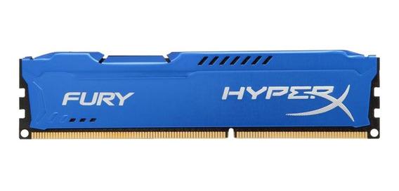 Memoria Ram Pc Hyperx Fury Ddr3 8gb 1333mhz Blue