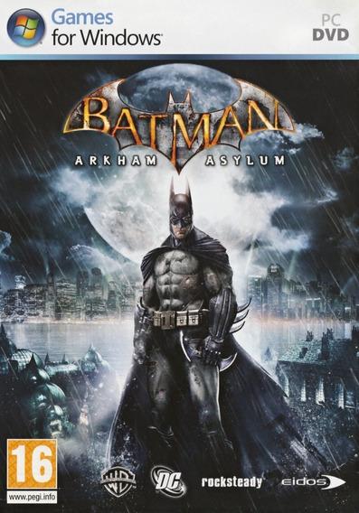 Batman Arkham Asylum Goty Pc - Steam Key (envio Flash)