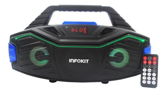 Mini System Wireless Bluetooth Portatil 15w Karaoke/fm/usb