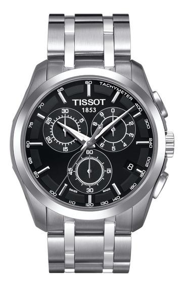 Relógio Tissot Couturier T035.617.11.051.00 Preto Original