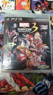 Marvel Vs Capcom 3 Ps3 Usado En Perfecto Estado Y Completo