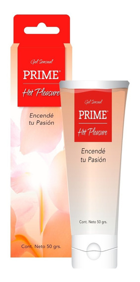 Gel Prime Hot Pleasure Lubricante Placer Femenino 50gr