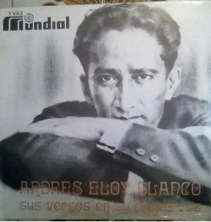 Lp Andres Eloy Blanco Versos En Su Voz Doble Sellado