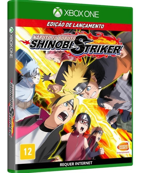 Naruto To Boruto Shinobi Striker Xbox One Novo, Mídia Física