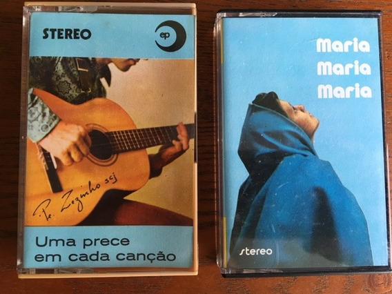 2 K7 - Padre Zezinho - Maria & Uma Prece Em Cada Canção