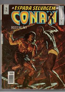 Hq A Espada Selvagem De Conan O Barbaro Coleção 5 Hqs Abril